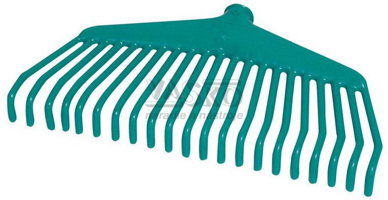 e643997d5a1dc Hrable na lístie švédske plastové s 21 lamelami, bez násady, Mac Hook