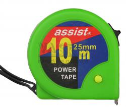 Meter zvinovací ASSIST 10m x 25mm