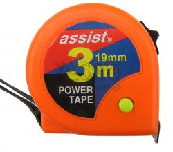 Meter zvinovací ASSIST  3m x 19mm